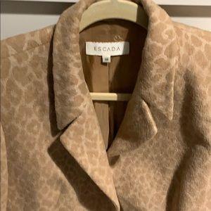 Escada jacket camel hair
